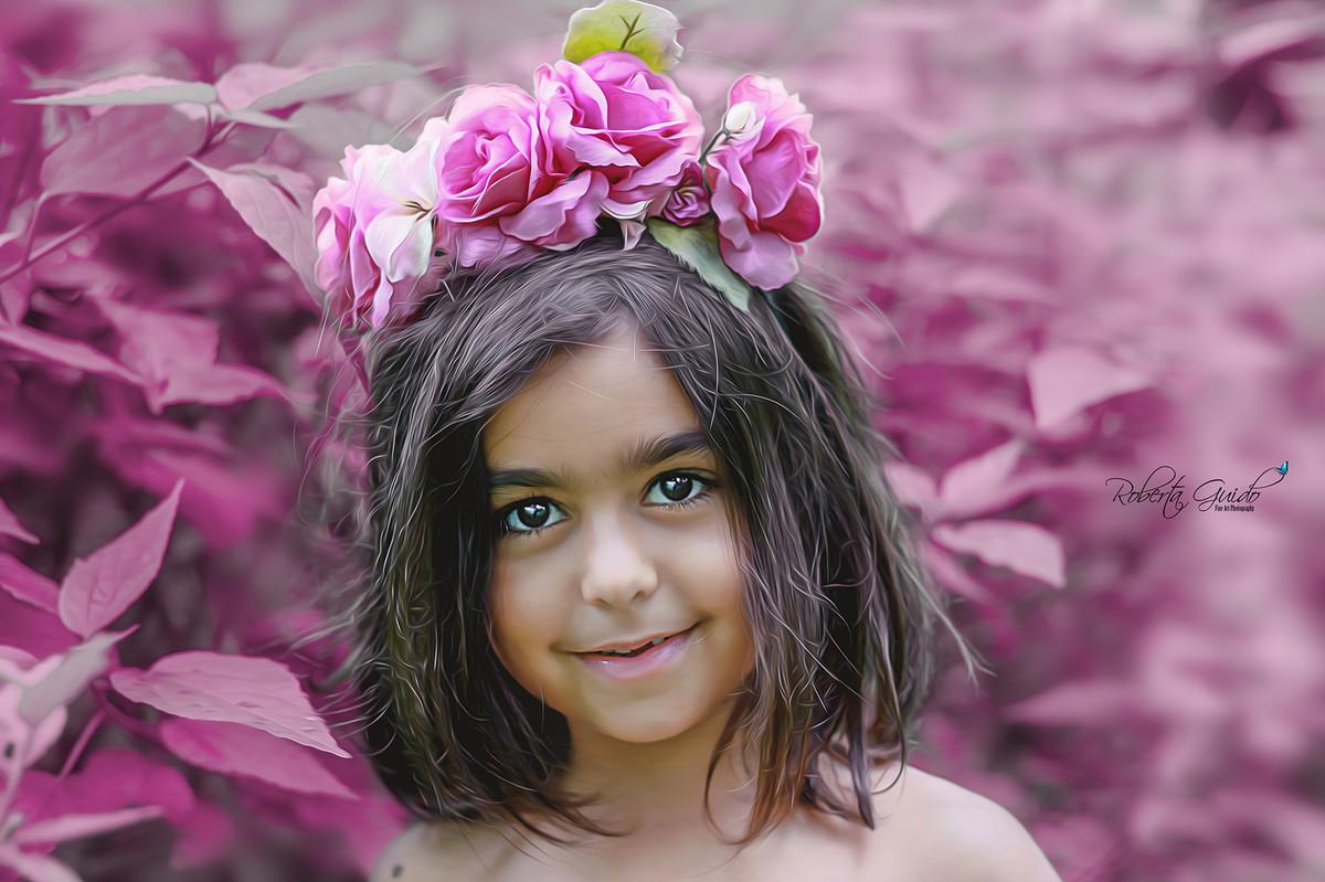ensaio fotografico infantil de fadas são paulo