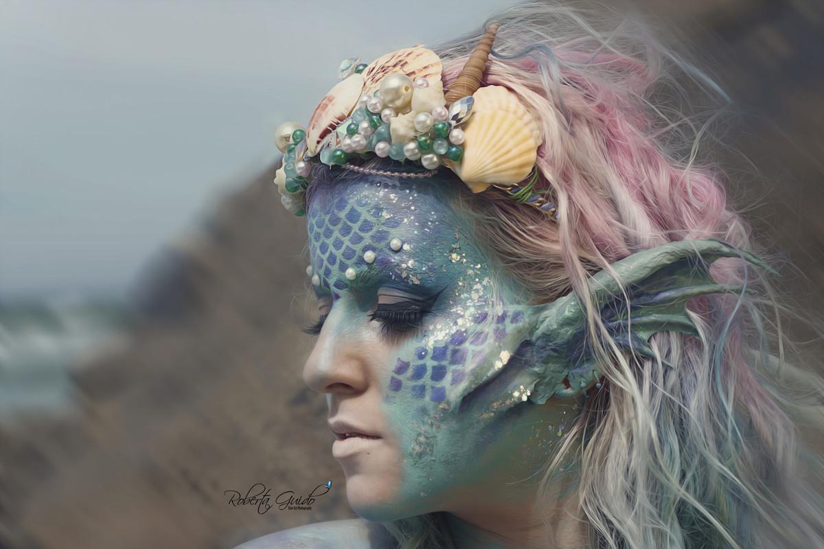 maquiagem de sereia