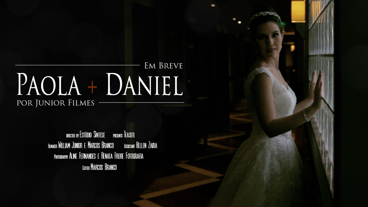 Foto de Trailer Paola e Daniel