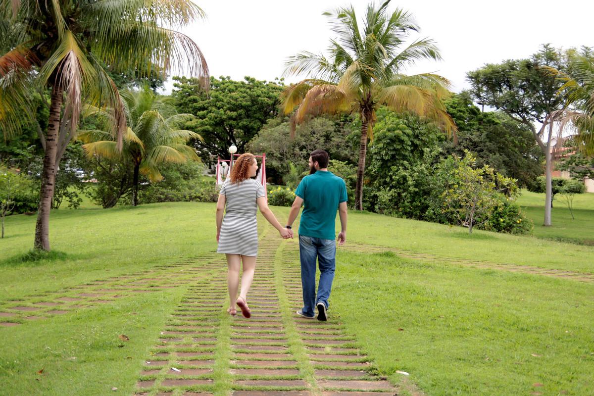 Foto de Livía e Guilherme
