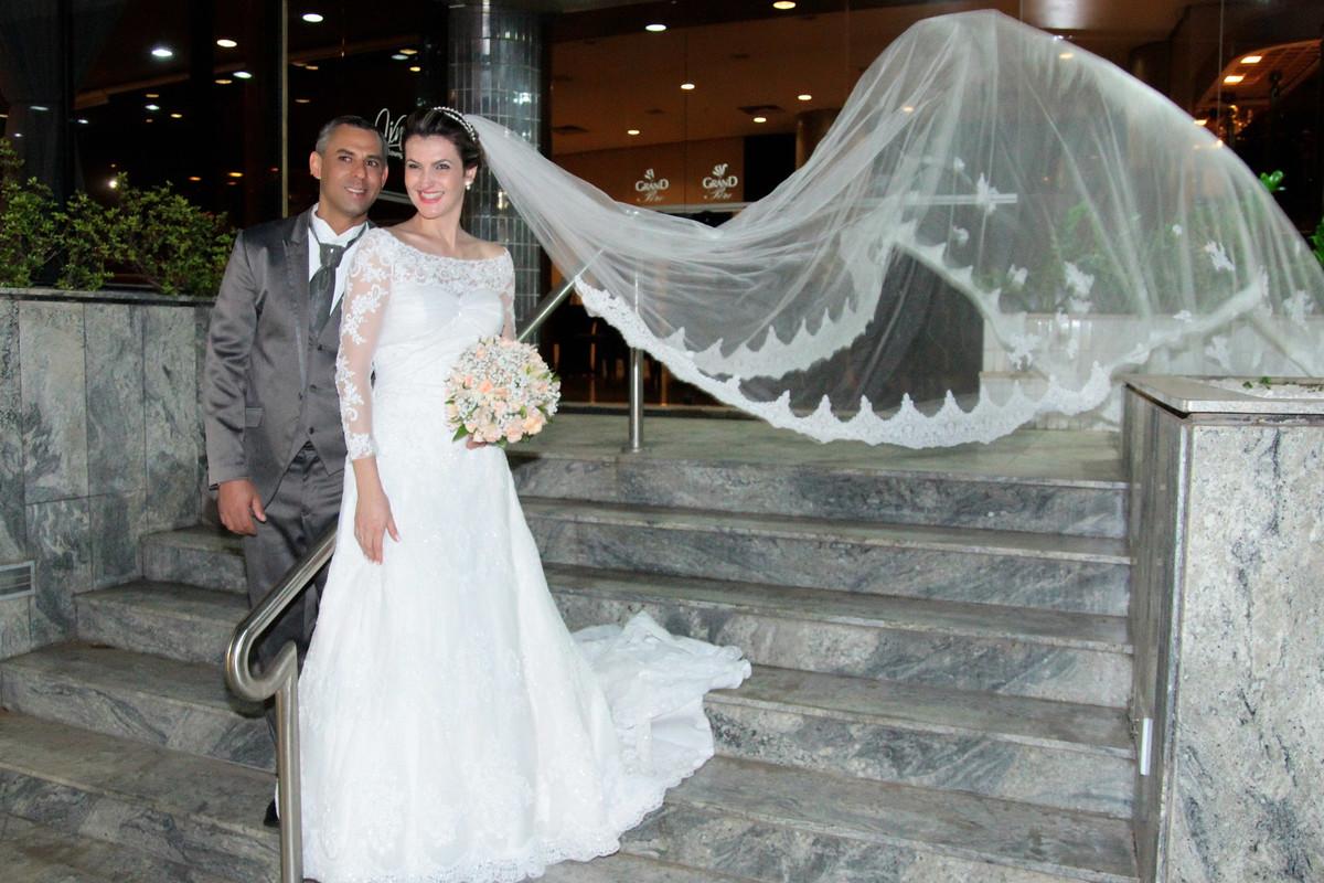 Foto de Angela e Agnaldo