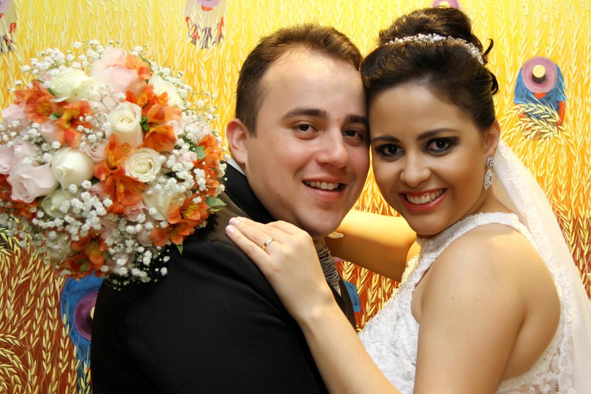 Foto de Daniela e Elcio Junior