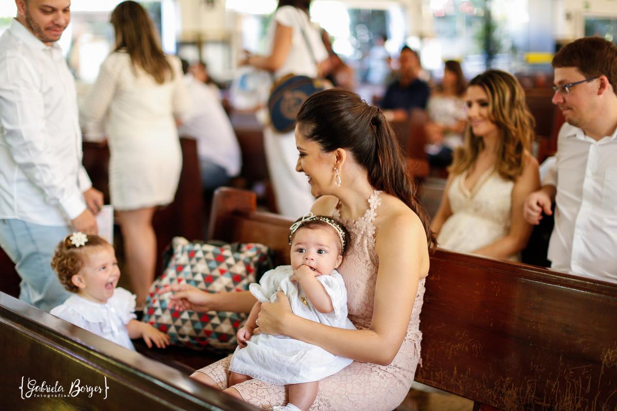 Foto de Batizado Júlia e Luísa