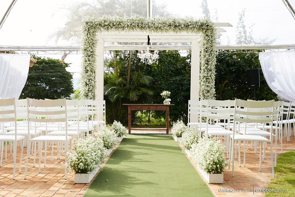 Estância Biguaçu; Cerimonia de casamento; casamento ao ar livre