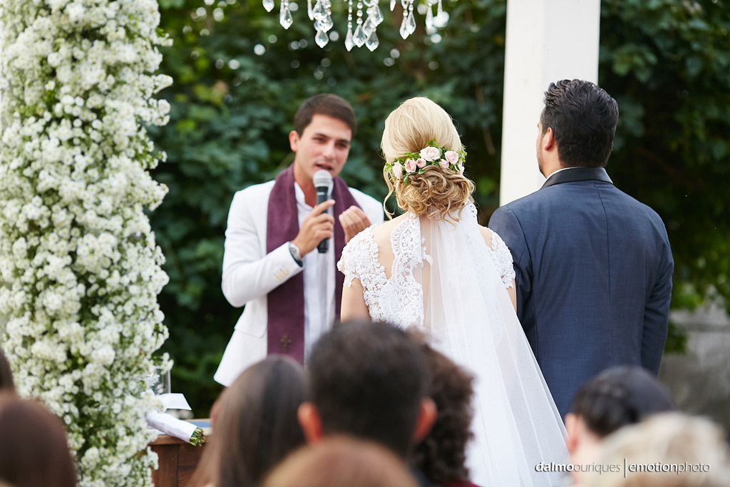 Cerimônia de Casamento, Estância Biguaçu, Casamento ao ar livre,