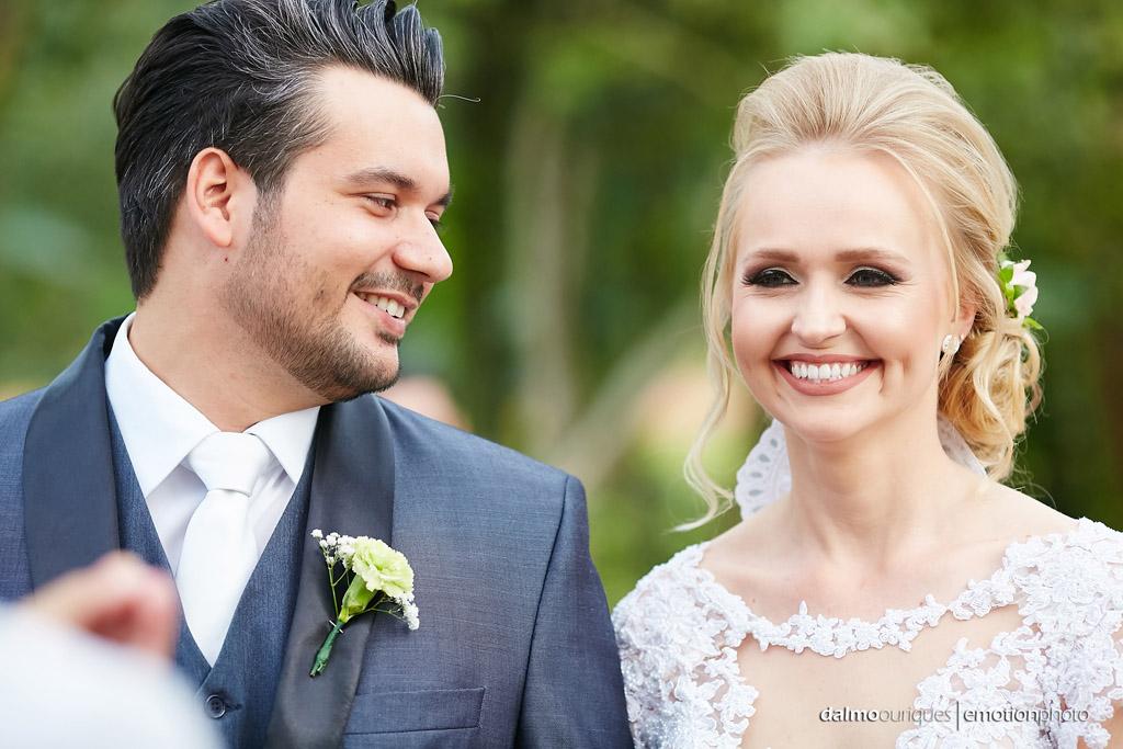 Cerimônia de Casamento, Estância Biguaçu, Casamento ao ar livre, felicidade dos noivos; Fotografia de casamento em Florianópolis