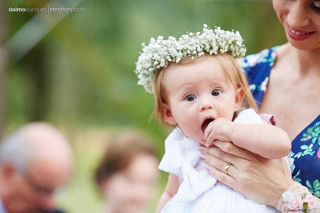 Cerimônia de Casamento, Estância Biguaçu, Casamento ao ar livre, daminha do casamento; Fotógrafo de casamento em Florianópolis