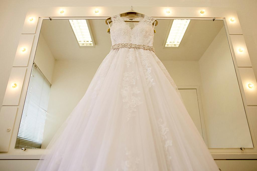 Fotografia de Casamento em Florianópolis; Vestido da noiva