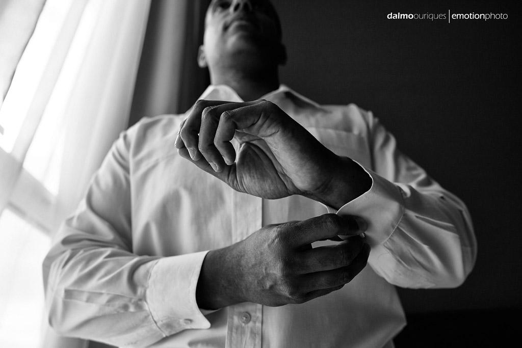 Fotógrafo de Casamento em Florianópolis; making of do noivo