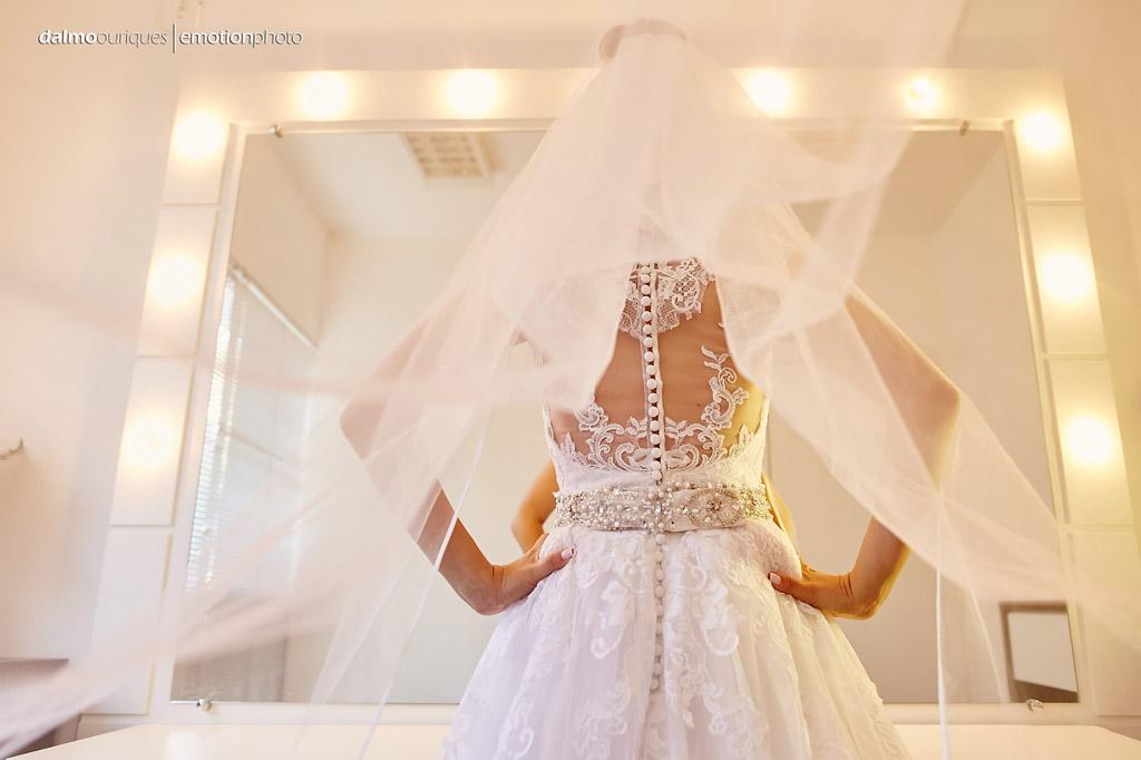 Fotografia de Casamento em Florianópolis; making of da noiva, noiva pronta