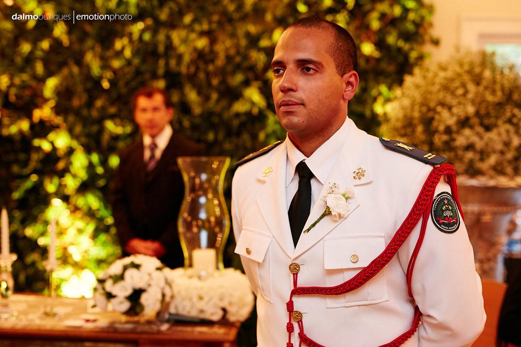 Fotógrafo de Casamento em Florianópolis;  Alameda Casa Rosa; Cerimônia de Casamento; esperando a noiva