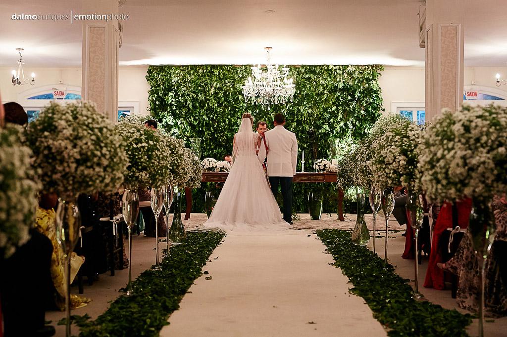 Fotografia de Casamento em Florianópolis;  Alameda Casa Rosa; Cerimônia de Casamento; farda de bombeiro