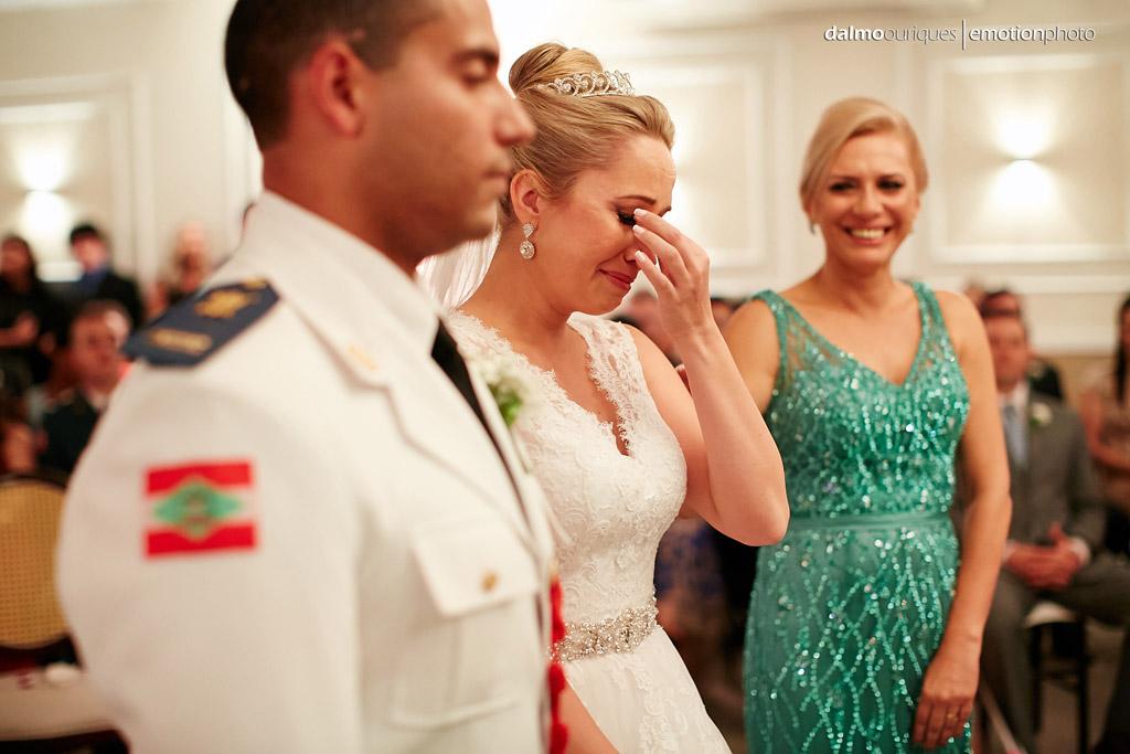 Fotógrafo de Casamento em Florianópolis; Alameda Casa Rosa; emoção no casamento