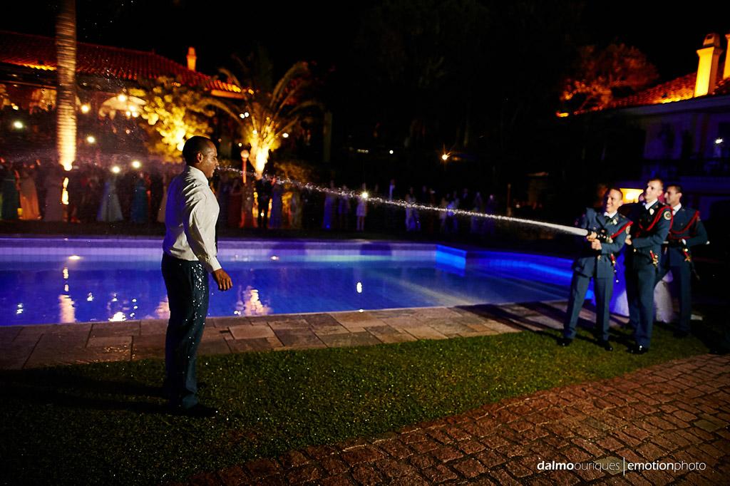 Fotografia de Casamento em Florianópolis; casamento de bombeiro