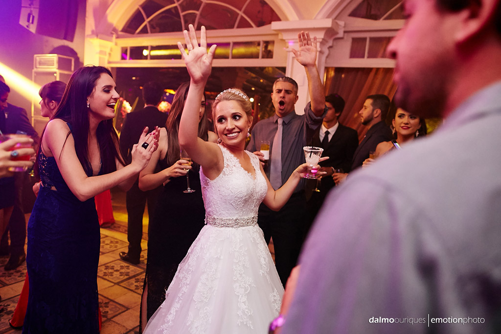 Fotografia de Casamento em Florianópolis; Festa de casamento; Alameda Casa Rosa