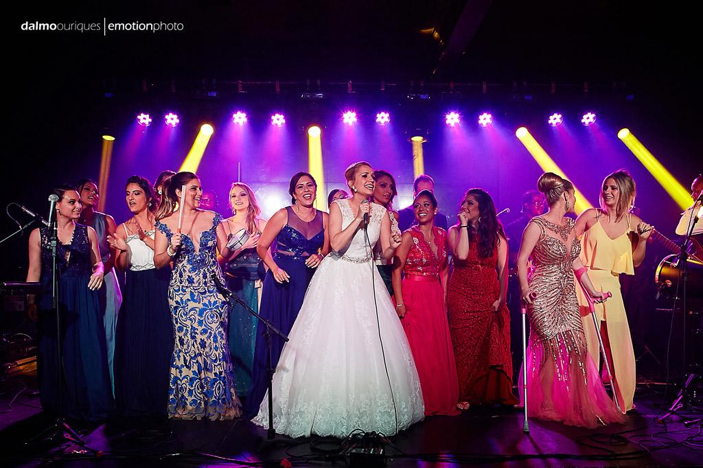 Fotógrafo de Casamento em Florianópolis; Festa de casamento; Alameda Casa Rosa, madrinhas de casamento