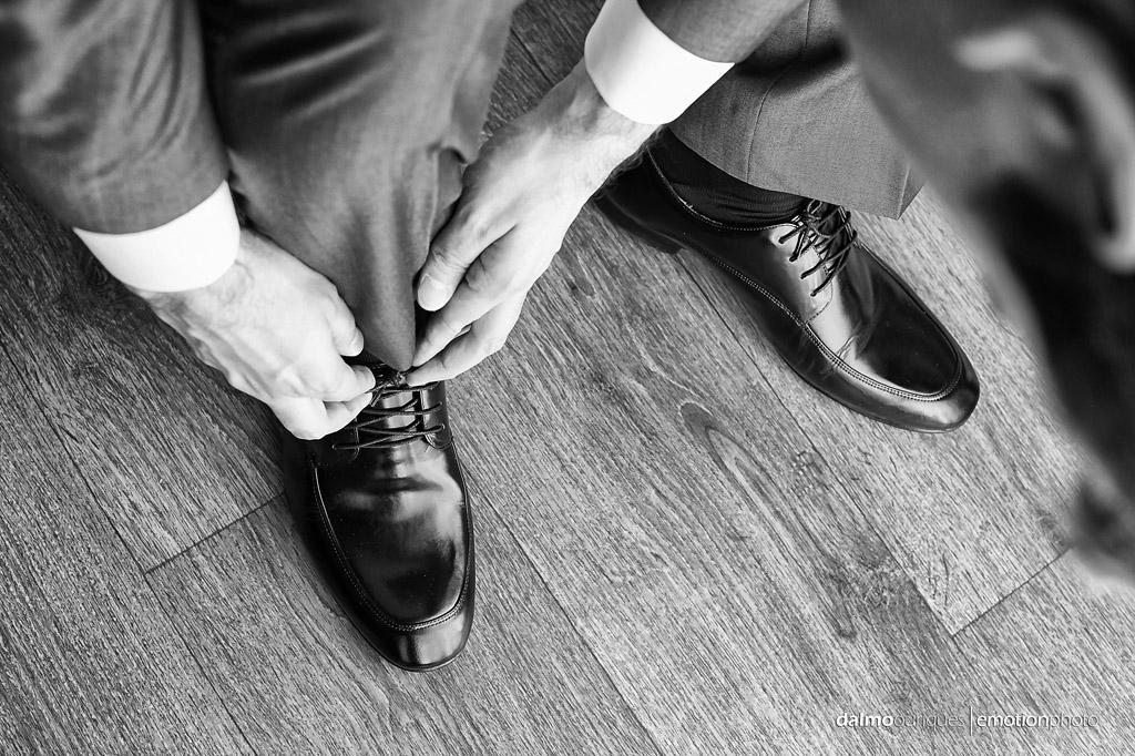 Making of do noivo; sapato do noivo; sapato do casamento;  fotógrafo de casamento Florianópolis