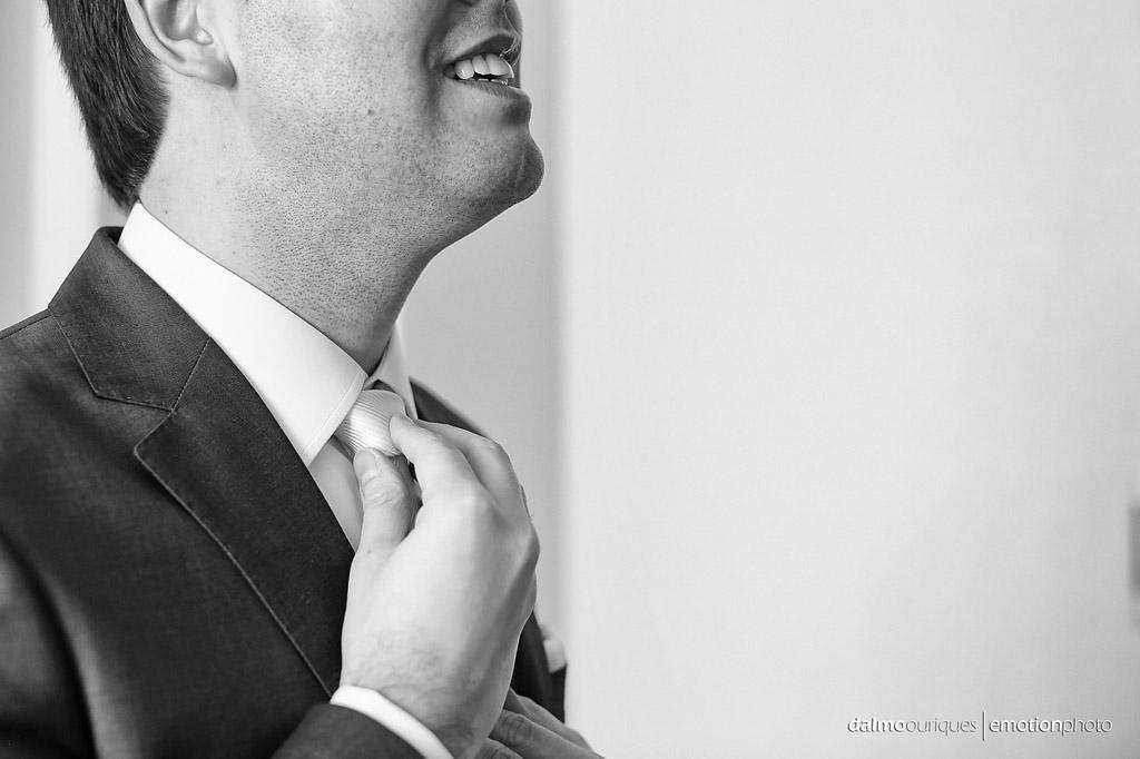 Making of do noivo; gravata para casamento; fotografia de casamento em Florianópolis