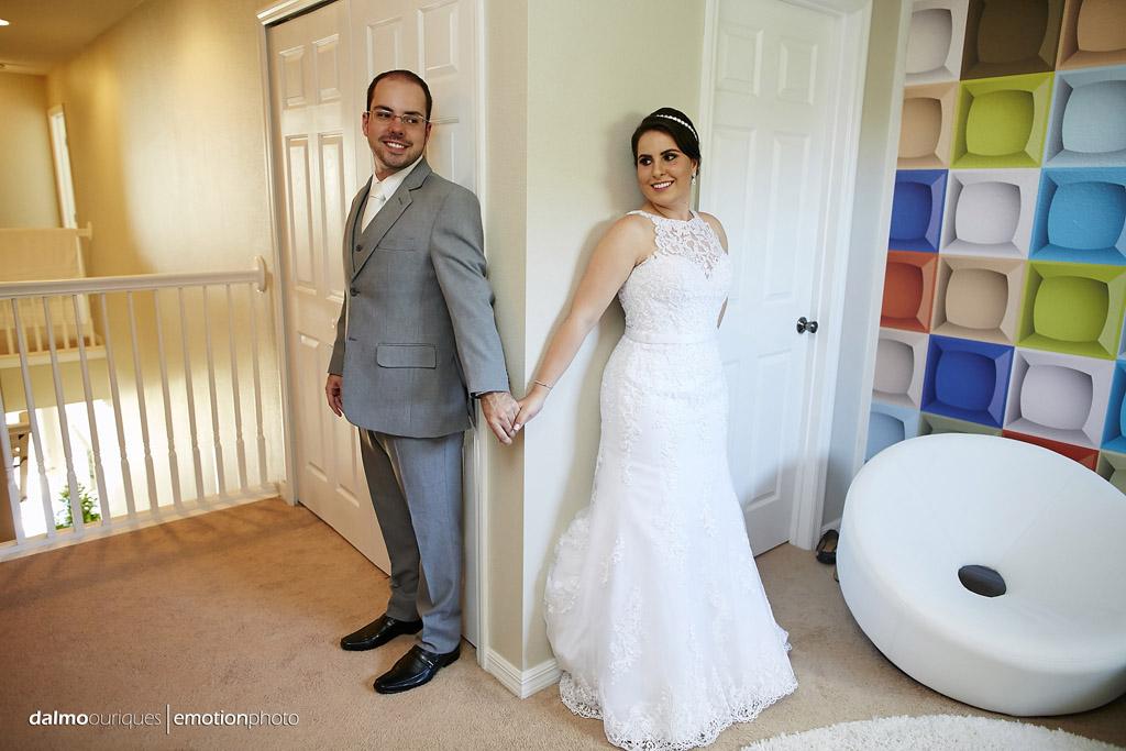noivos se tocam antes do casamento, mas não se vêm