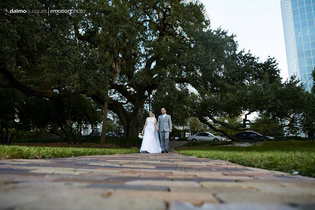 fotografia de casamento consegue unir a beleza de fazer ensaio nos estados unidos com os parque
