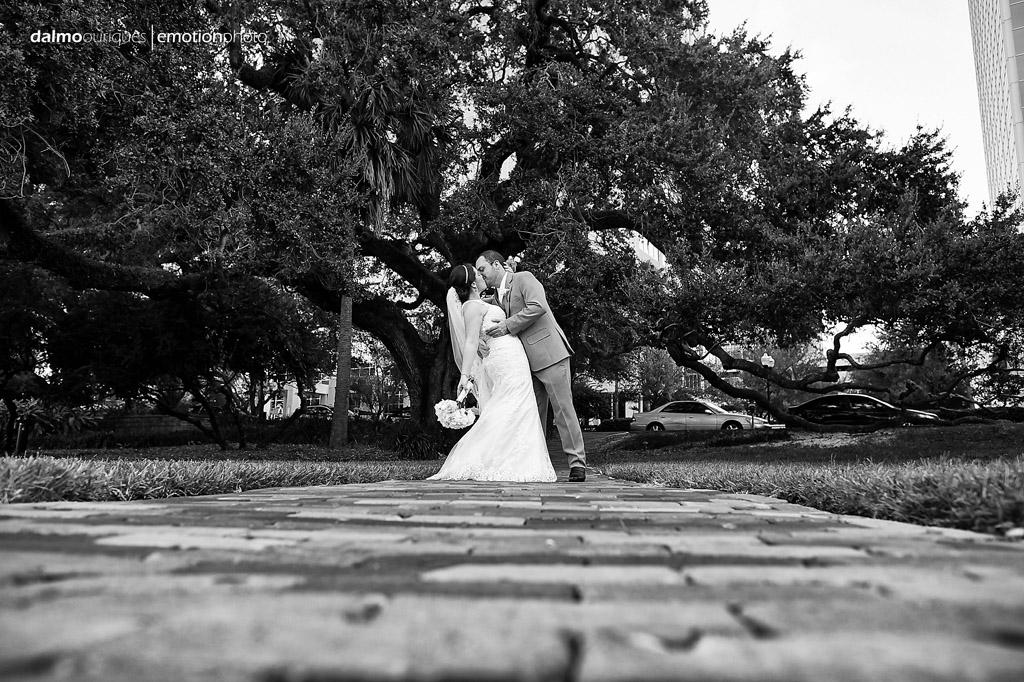 ensaio de casamento acontece num parque dos EUA em orlando