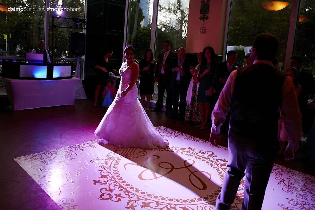primeira dança dos noivos, casal não dança valsa de casamento