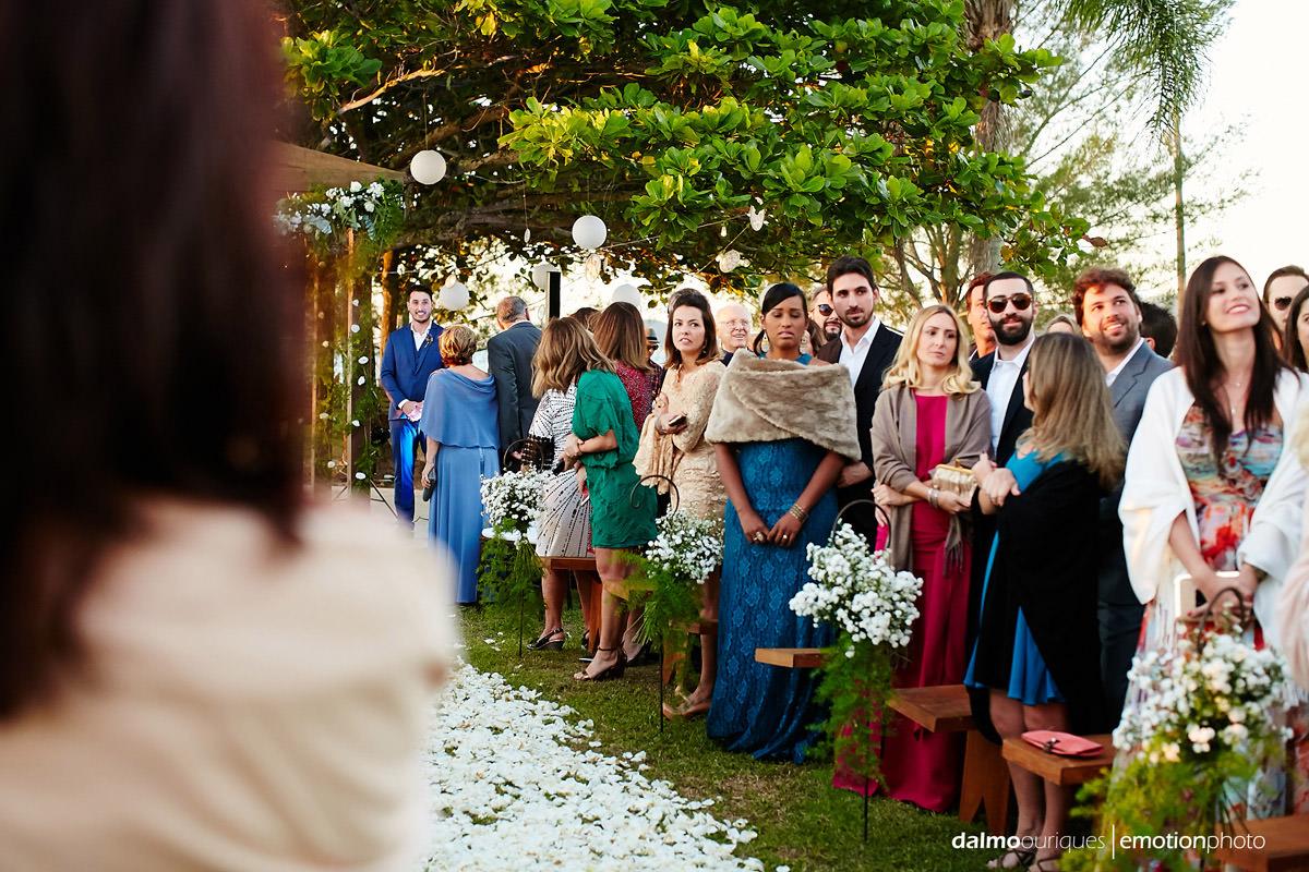 cerimonia de casamento; casamento ao ar livre florianópolis; fotógrafo casamento Florianópolis;