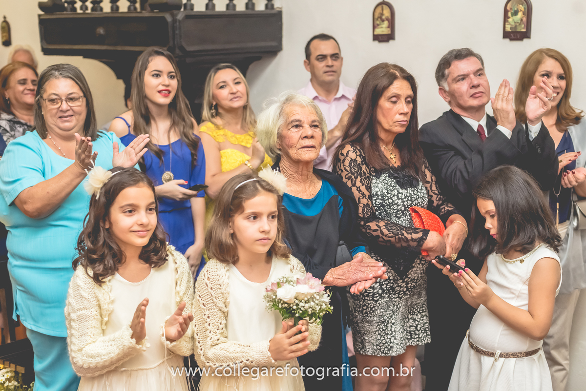 Foto de Miria e Abreu