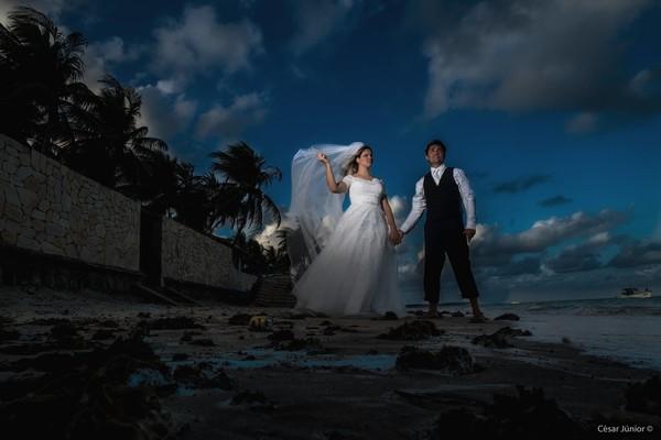 Destination de Trash the dress Isabela e Manuel