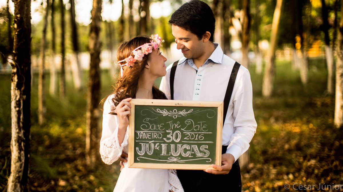 Ensaio fotografico pre casamento