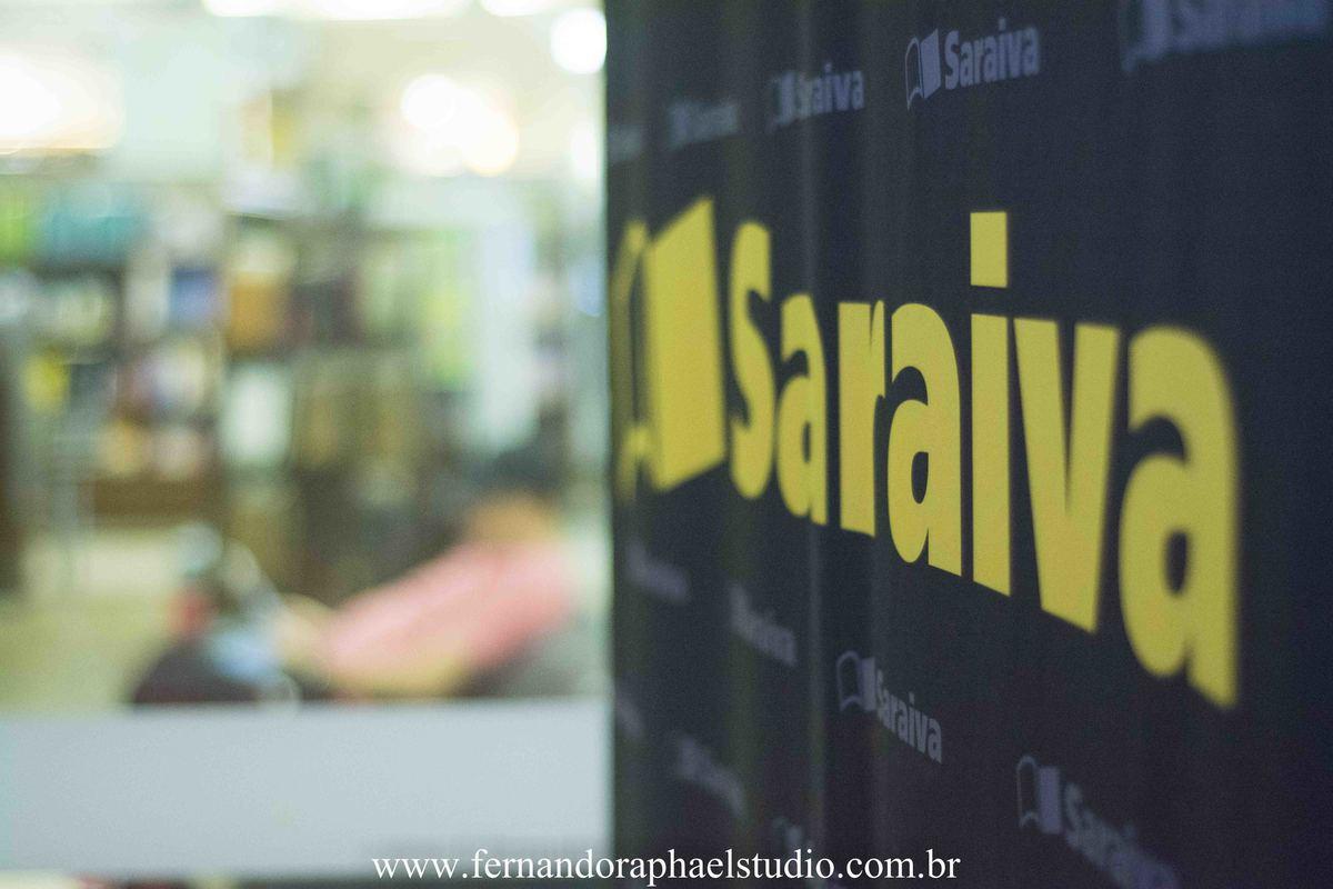 Exposição fotografica na saraiva