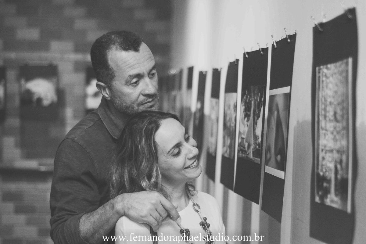 exposição fotográfica de casamento