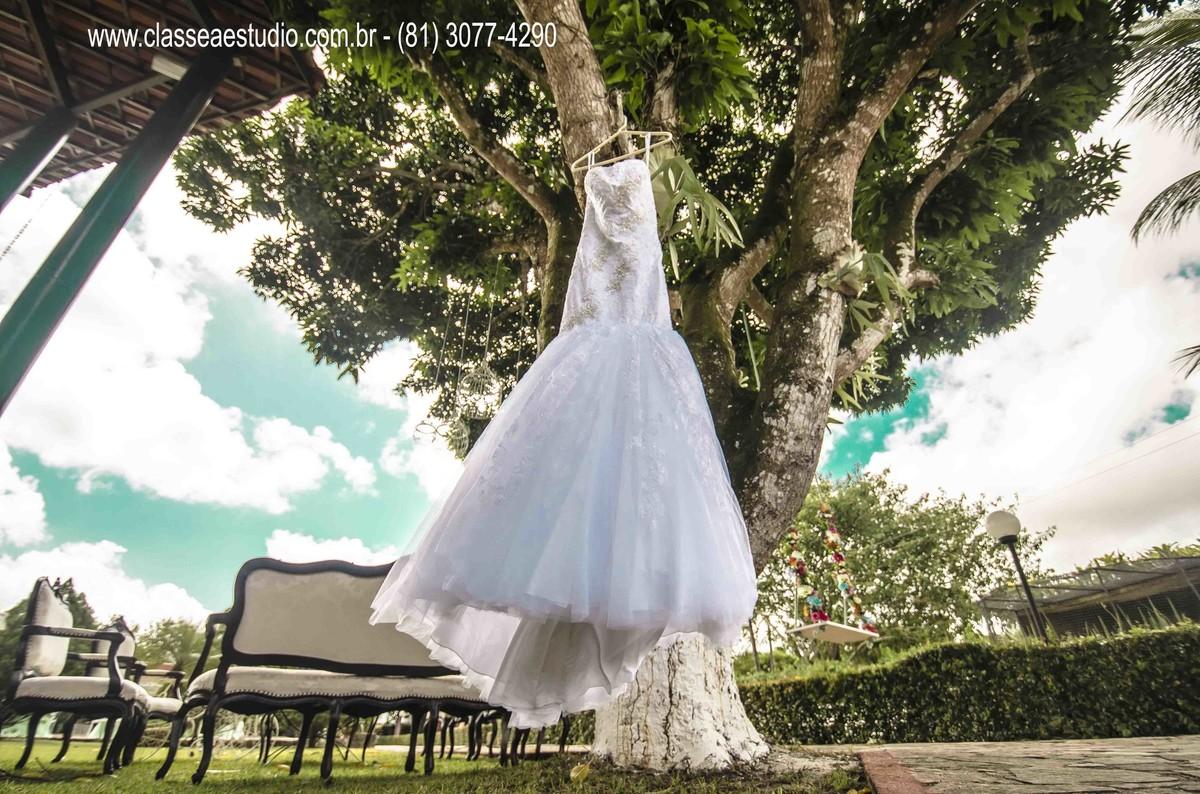 vestido de noiva por Cinthia Verçosa