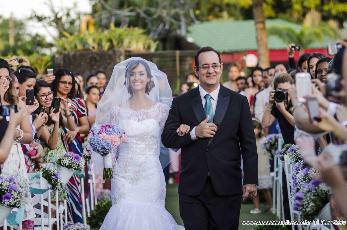 Casamento americano em aldeia
