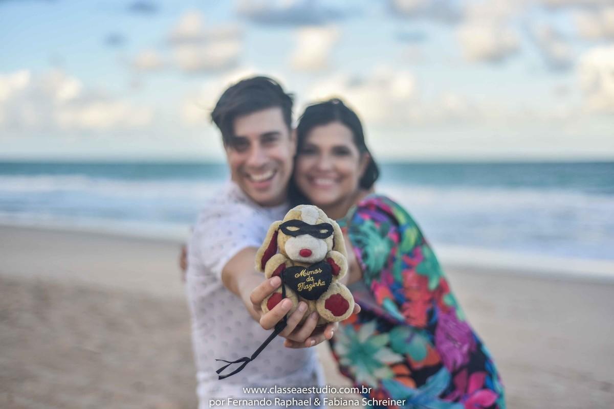 ensaio fotografico de noivos na praia do paiva