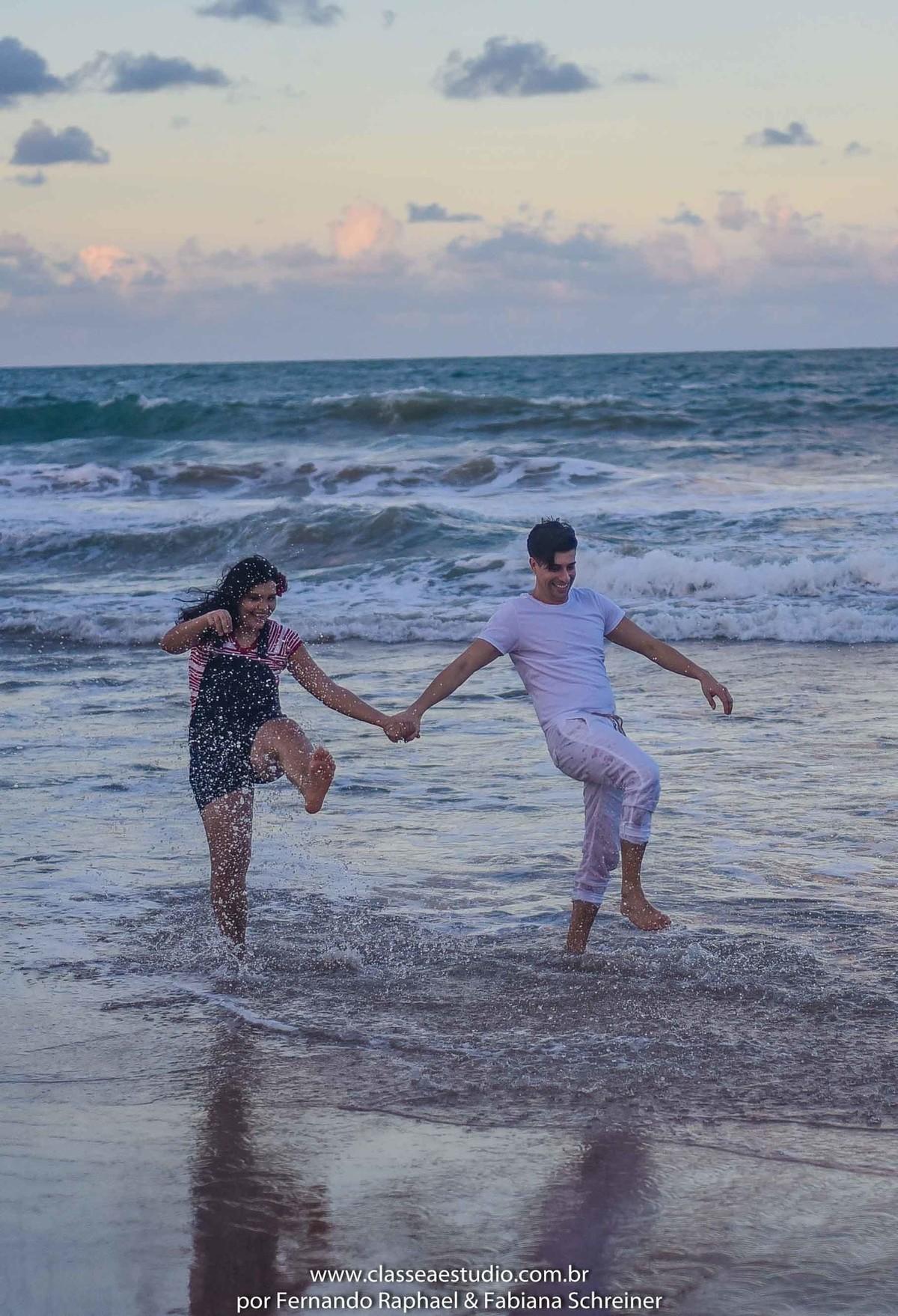 fotos de casal na praia do paiva