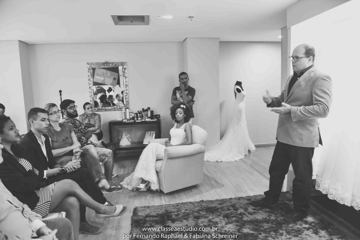Palestra para noivas na vertrouge sophistique