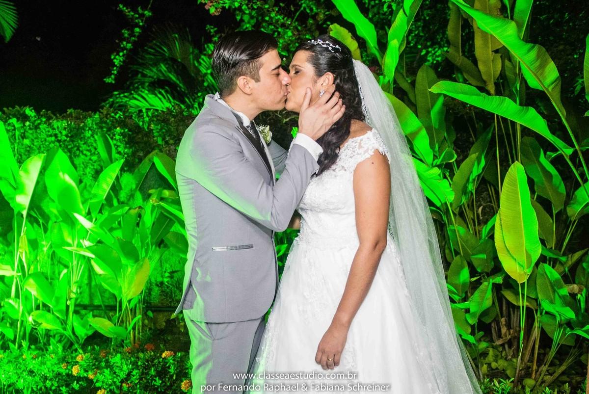 beijo de casamento