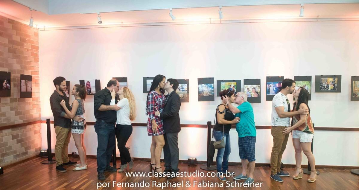 exposição fotográfica de casais