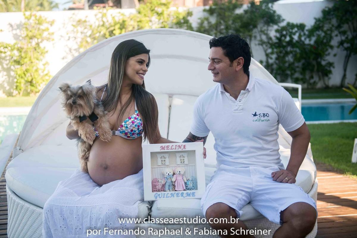 book fotográfico de gravida