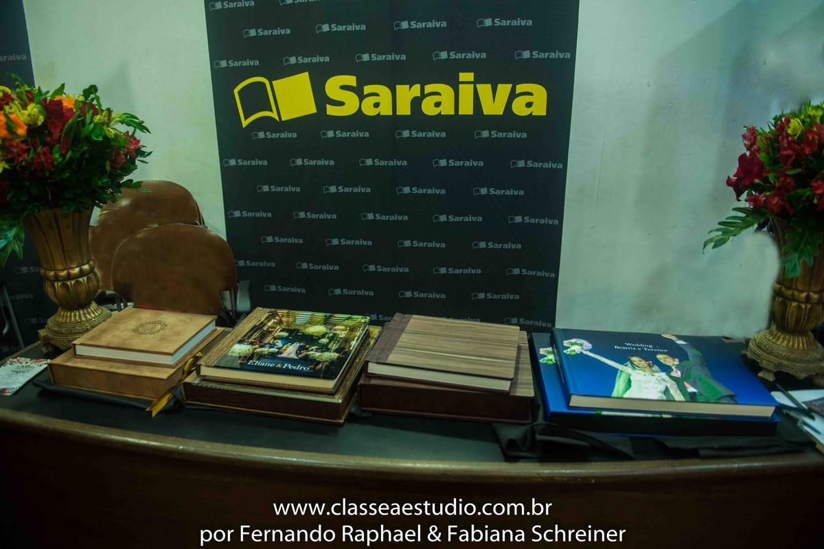 exposição fotográfica na livraria saraiva