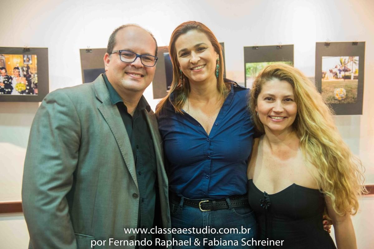 Fernando Raphael e Fabiana Schreiner