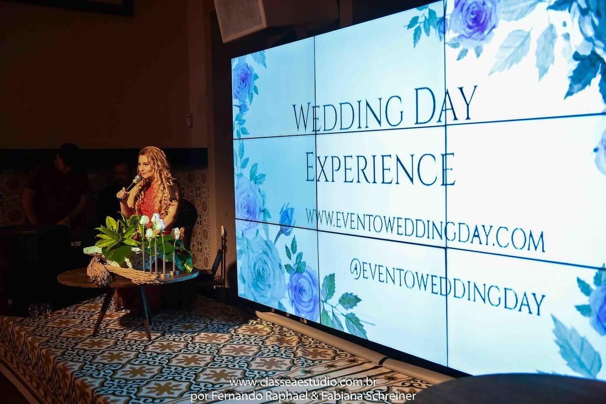Fabiana Schreiner no evento wedding day experience