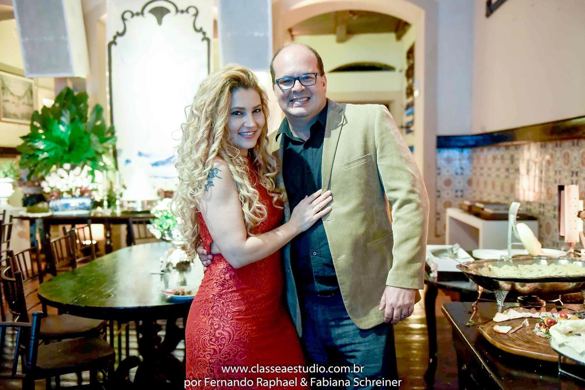 Fabiana Schreiner e Fernando Raphael no Wedding Day Experience