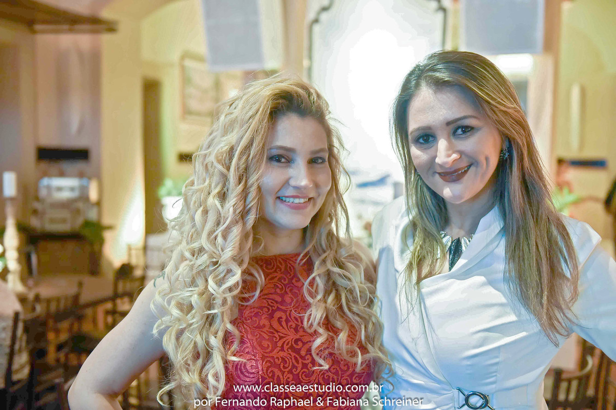Fabiana Schreiner e Claudia Boudoux no Wedding Day Experience