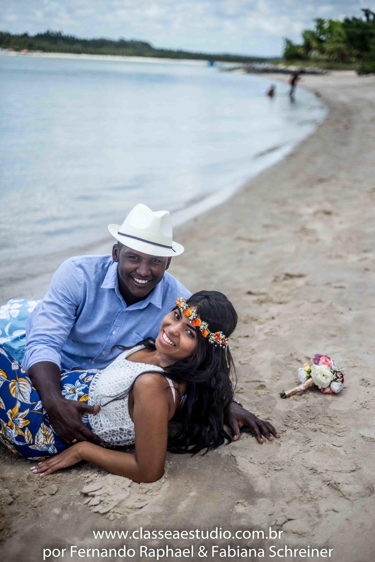 pré-wedding na praia de Maria Farinha em Pernambuco