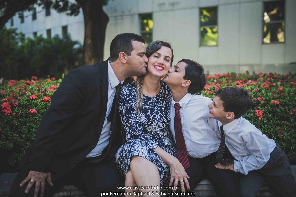 ensaio fotográfico de família