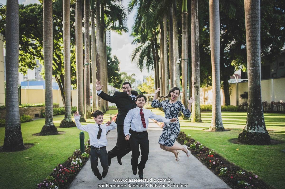 ensaio fotográfico de família na igreja dos mormons