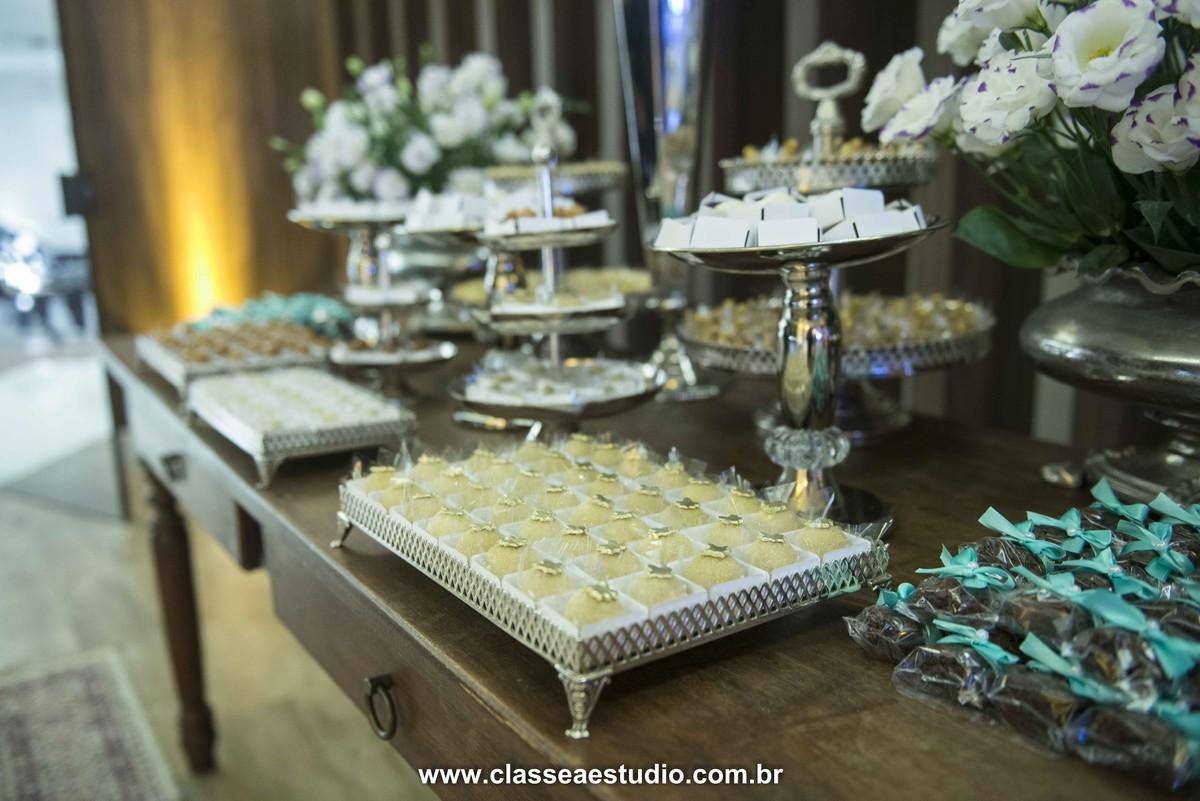 Mesa de doces para casamento
