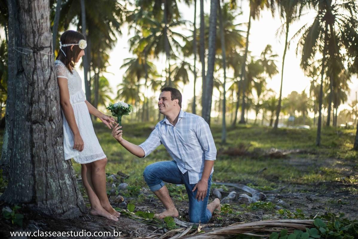 Ensaio fotografico de casal